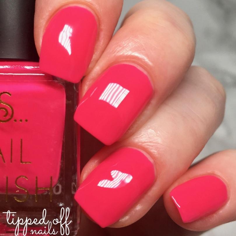 Primark PS Nail Polish Neons Pink Glow