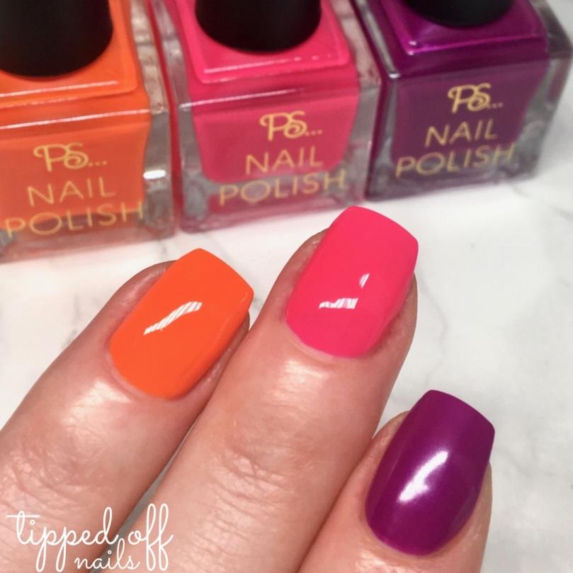 Primark PS Nail Polish Neons Glow