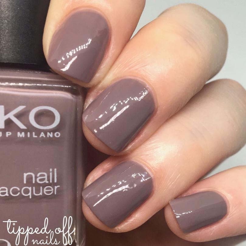 Kiko Milano Nail Lacquer Swatch 320 Beige Mauve