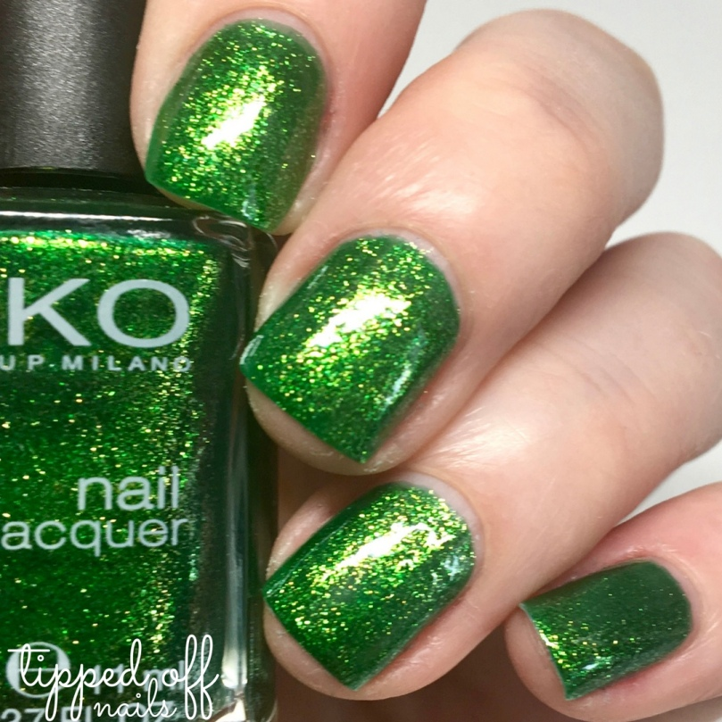 Kiko Milano Nail Lacquer 533 Pearly Golden Green