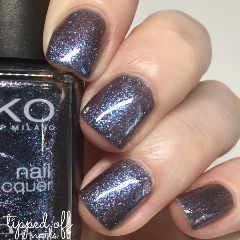 Kiko Milano Nei Lacquer 524 Blue Multicolour