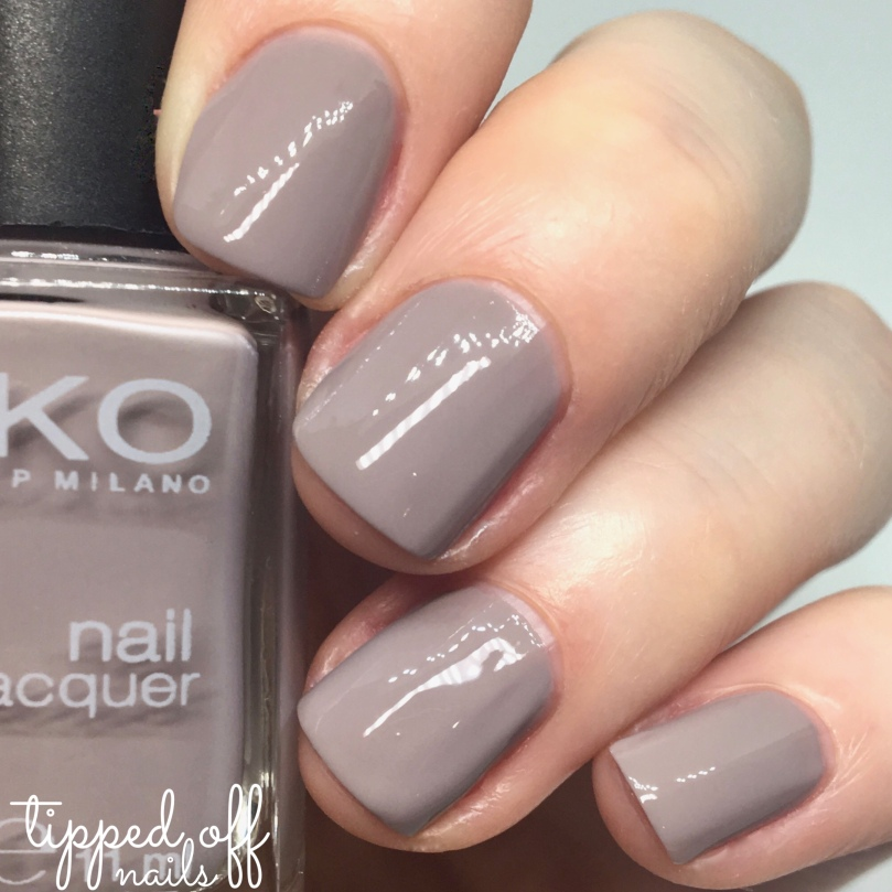 Kiko Milano Nail Lacquer Swatch 319 Light Dove