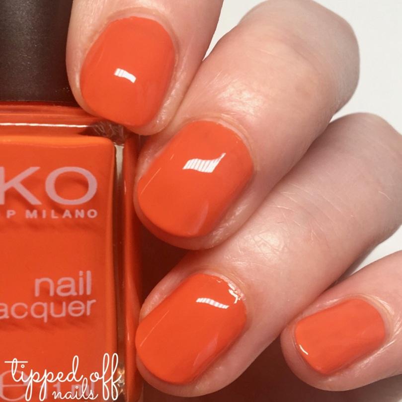 Kiko Milano Nail Lacquer - 357 Bright Orange