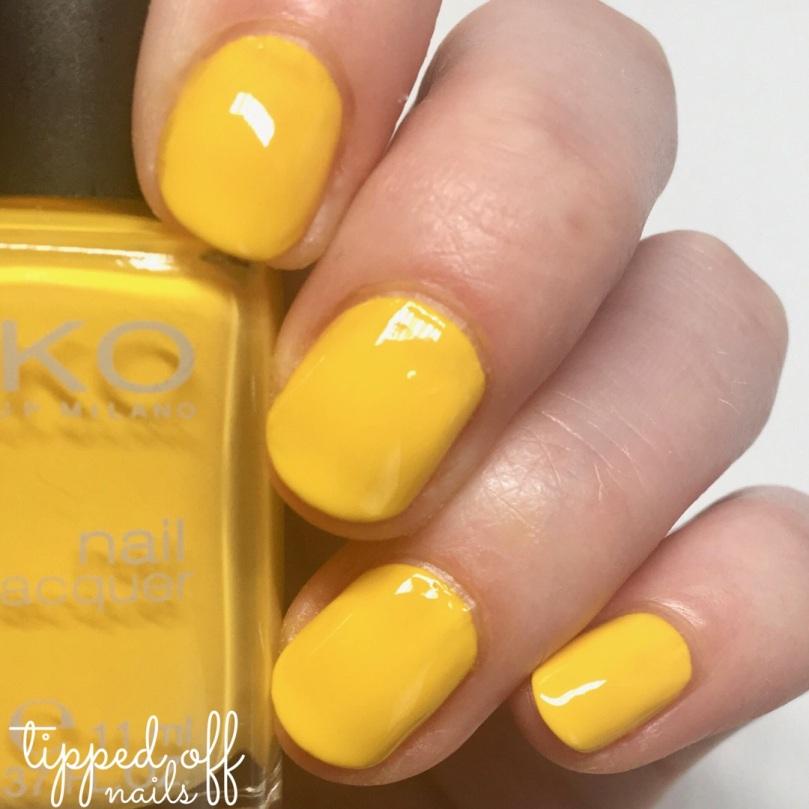 Kiko Milano Nail Lacquer - 279 Yellow