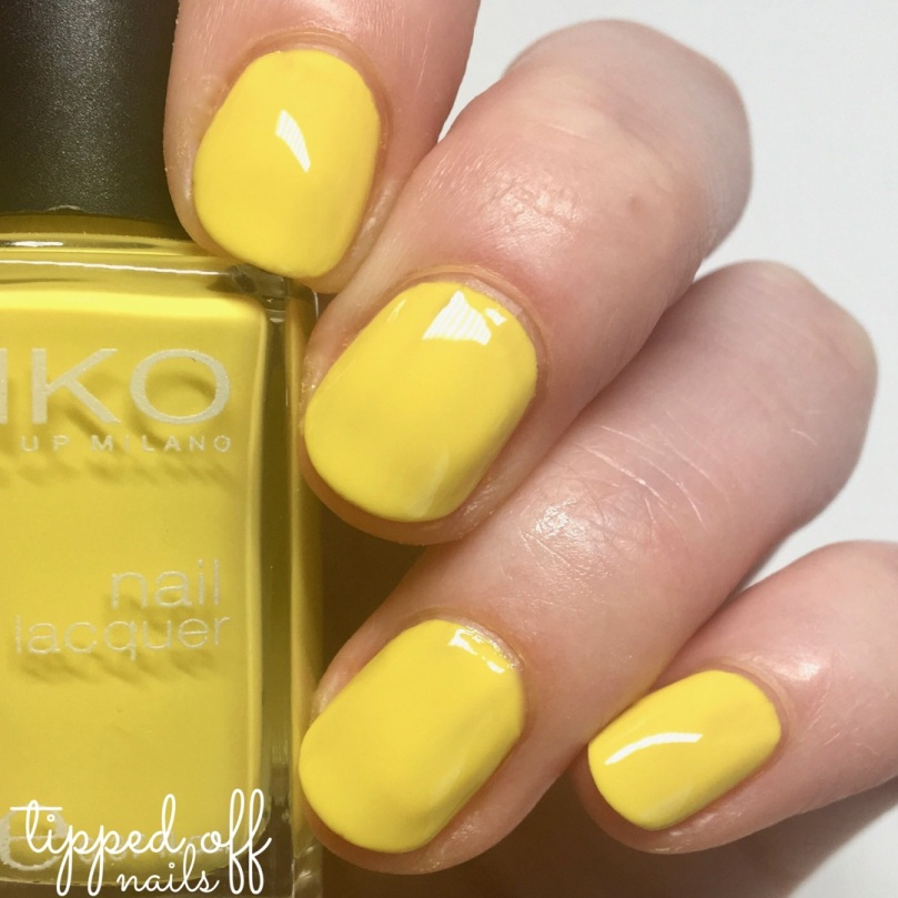 Kiko Milano Nail Lacquer - 355 Canary Yellow