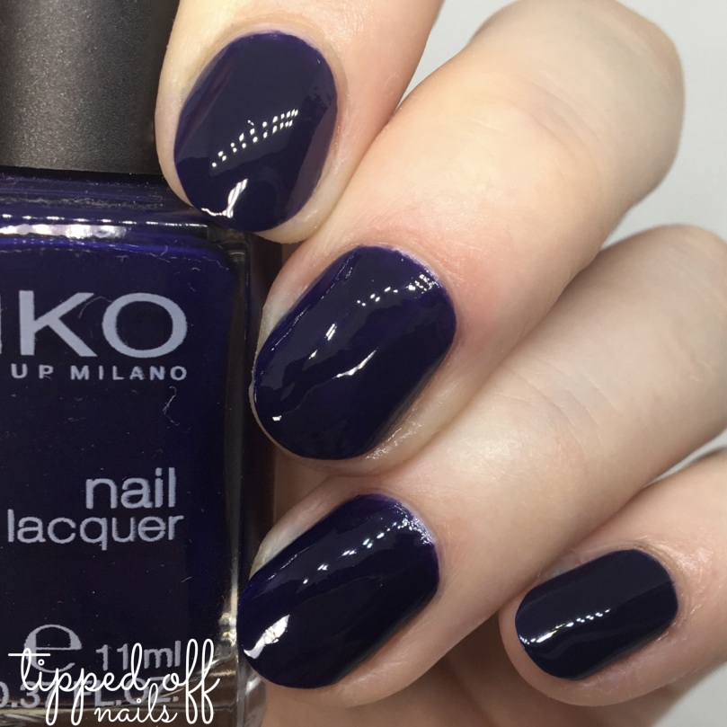Kiko Milano Nail Lacquer Swatch - 523 Royal Blue