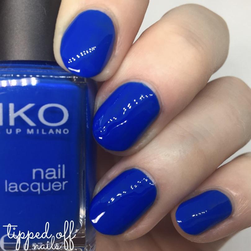 Kiko Milano Nail Lacquer Swatch - 385 Indigo