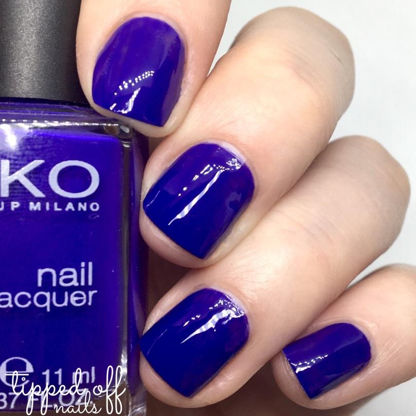 Kiko Milano Nail Lacquer Swatch 333 - Brilliant Violet