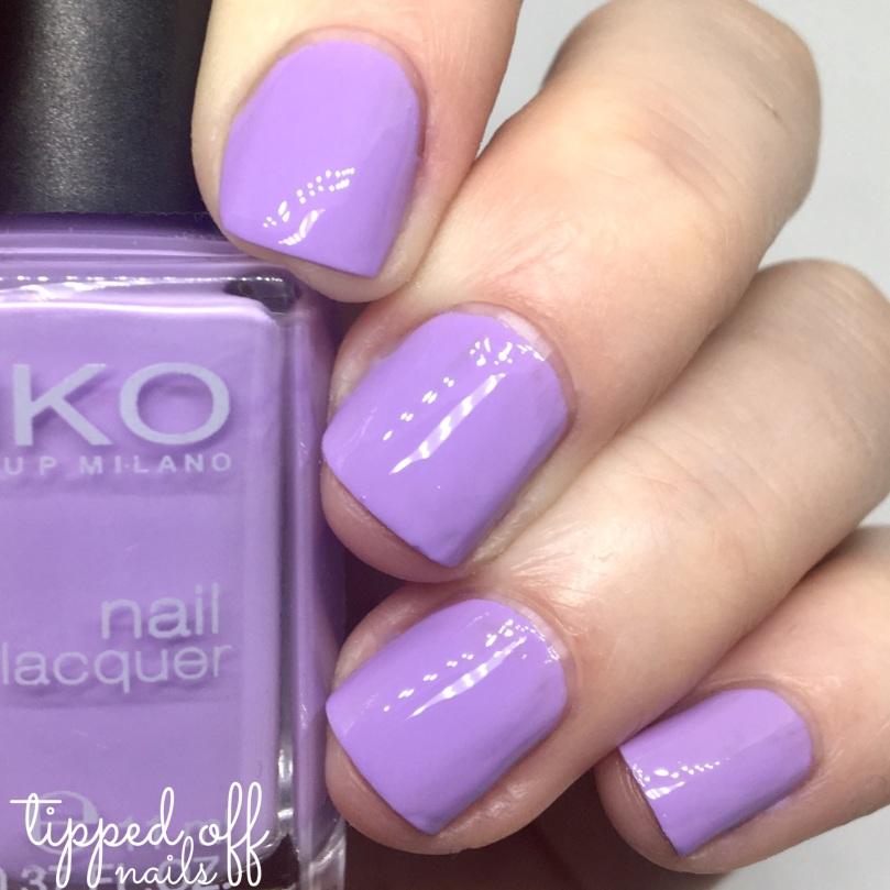 Kiko Milano Nail Lacquer Swatch 330 - Lilac