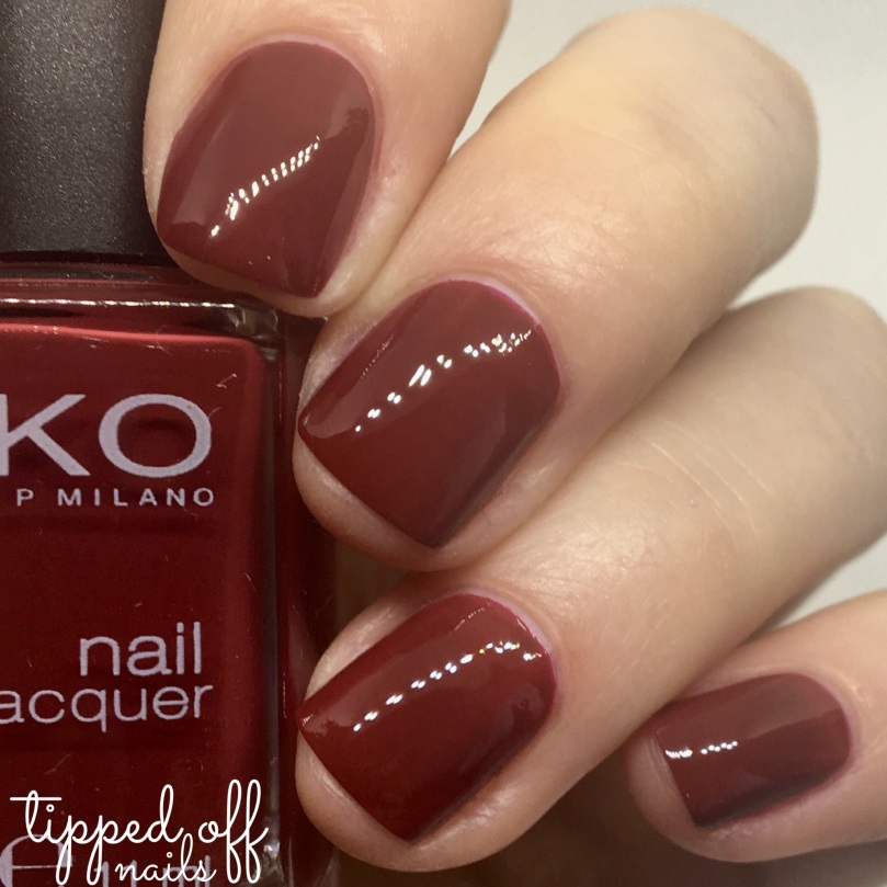 Kiko Milano Nail Lacquer 286 Purple Red