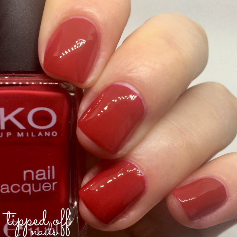 Kiko Milano Nail Lacquer 240 - Apple Red