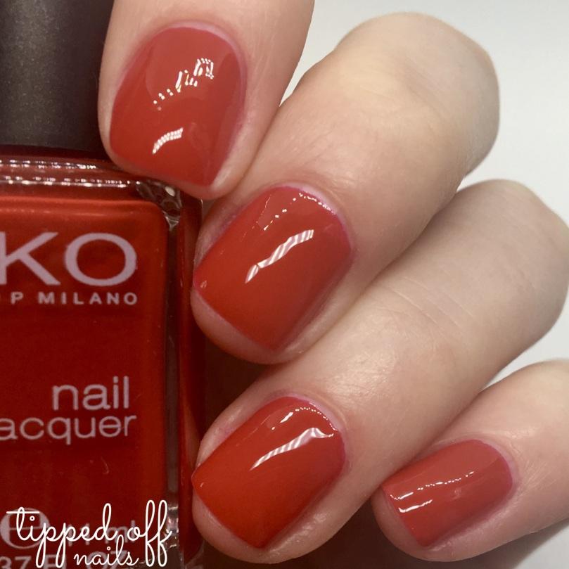 Kiko Milano Nail Lacquer 239 Vermilion Red