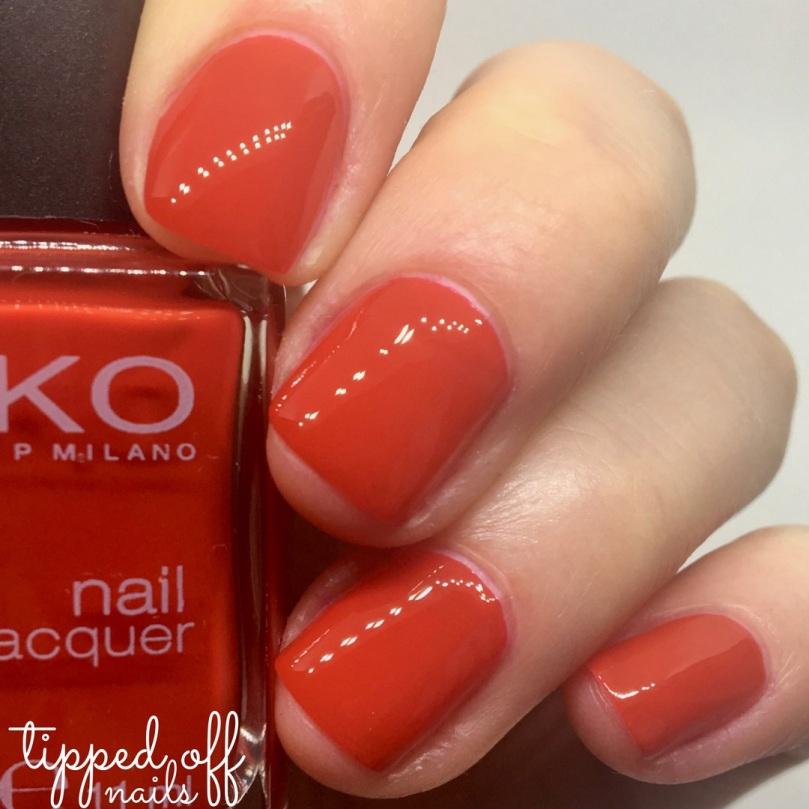 Kiko Milano Nail Lacquer 238 Martha Red
