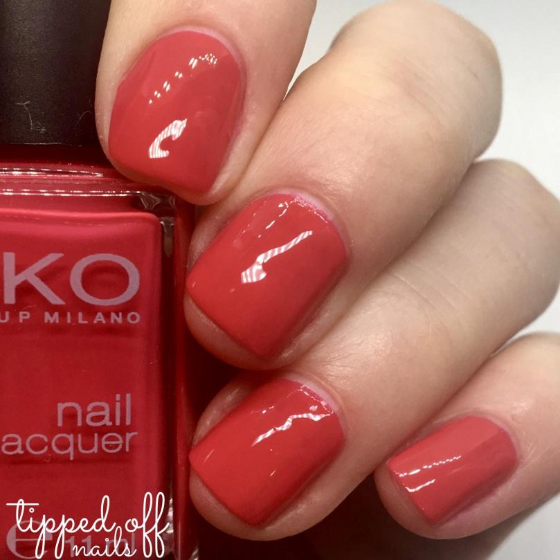 Kiko Milano Nail Lacquer 362 Poppy Red