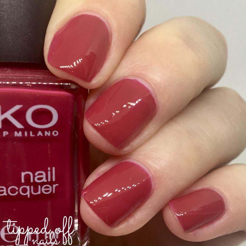 Kiko Milano Nail Lacquer 363 Cherry Red