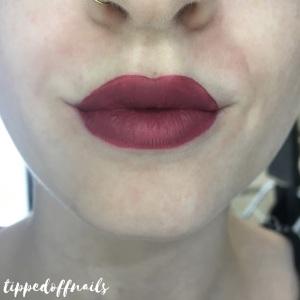 MUA Luxe Velvet Lip Lacquer Ravish Swatch