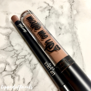 Barry M Matte Me UP Matte Liquid Lip Kits Go To Swatch