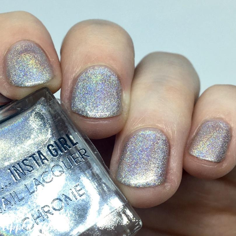 Primark Insta Girl Chrome holo nail lacquer Cyber