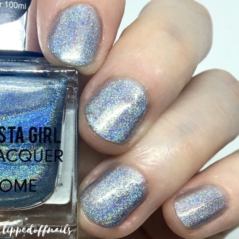 Primark Insta Girl Chrome holo nail lacquer Skylight