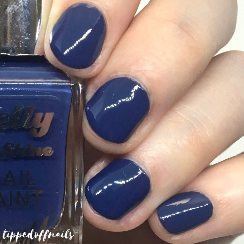 Barry M Gelly Hi-Shine Blue Jade Swatch