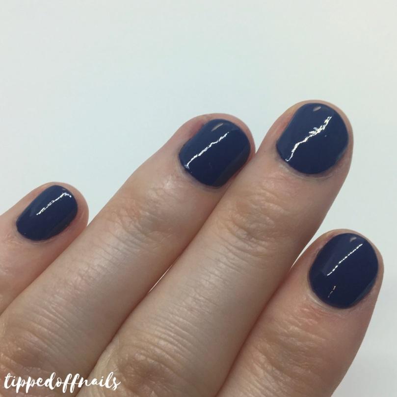 Barry M Gelly Hi-Shine Blue Jade Swatch