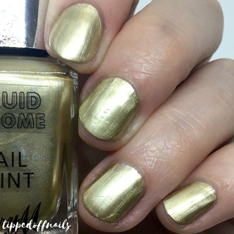 Barry M Liquid Chrome Nail Paint Bright Lights