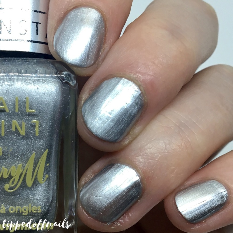 Barry M Liquid Chrome Nail Paint Rain On Me