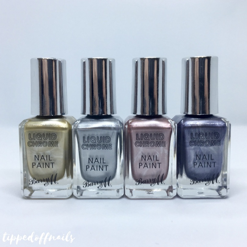 Barry M Liquid Chrome Nail Paint