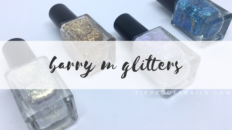 New Barry M Classic Glitters – Tipped Off Nails
