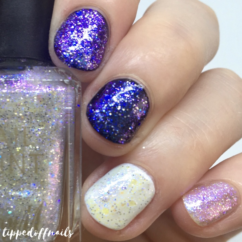 Barry M Classic Nail Paint Whimsical Dreams Glitter
