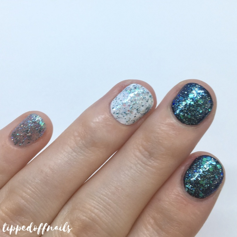 Barry M Classic Nail Paint Ethereal Forest Glitter