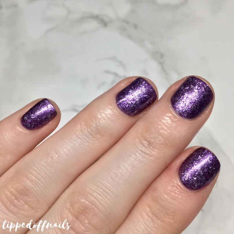 Barry M Molten Metal Purple Frost