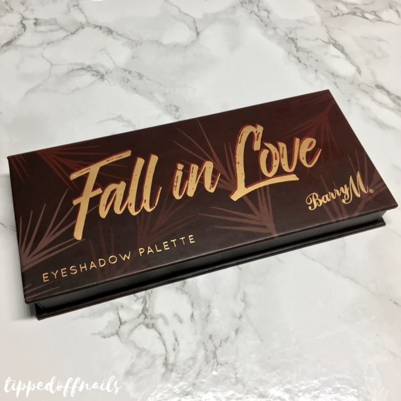 Barry M Fall In Love Eyeshadow Palette Swatches