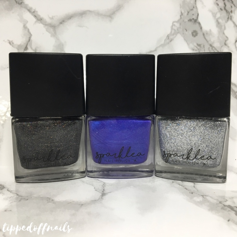 Sparklea Nail Polish Moana Collection Swatches