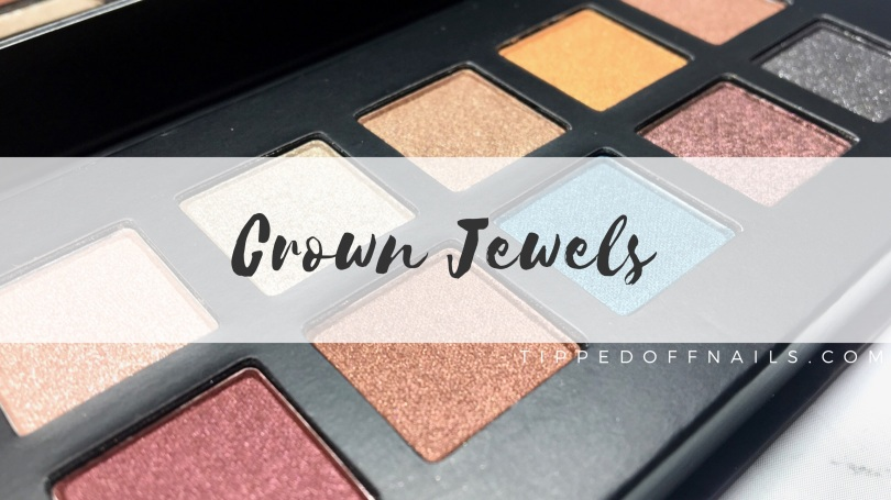 Barry M Limited Edition Crown Jewels Palette Swatches
