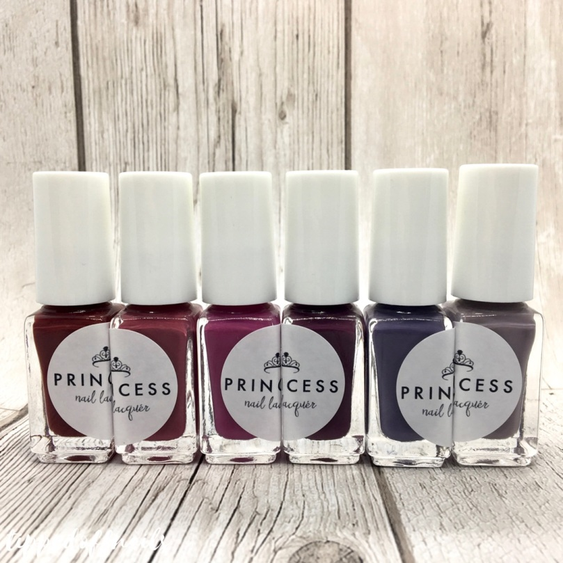 Princess Nail Lacquer Autumn 2017 Collection Swatches