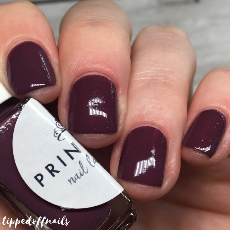 Princess Nail Lacquer Autumn 2017 Collection Swatches Bonfire Night