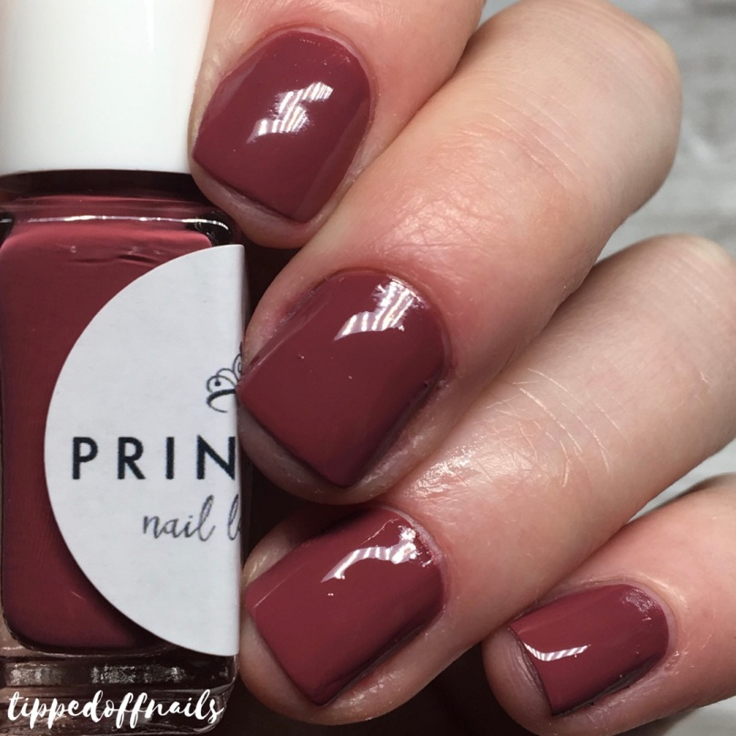 Princess Nail Lacquer Autumn 2017 Collection Swatches Sweater Weather