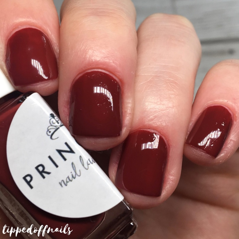 Princess Nail Lacquer Autumn 2017 Collection Swatches Harvest Festival