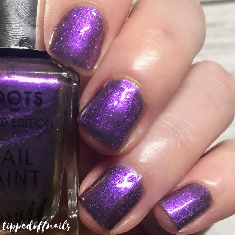 Barry M Mystic Purple Swatch