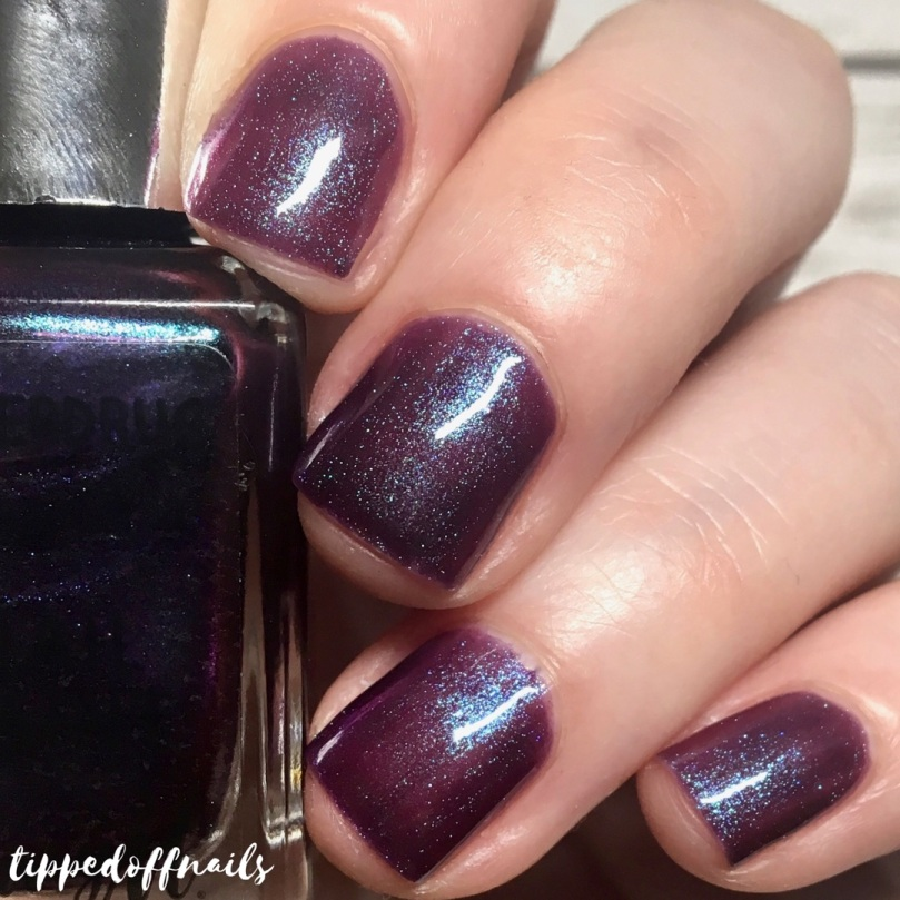 Barry M Superdrug Purple Hex Swatch