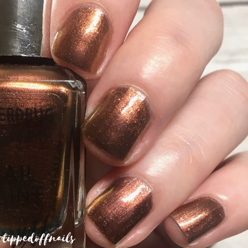 Barry M Superdrug Copper Dreams Swatch