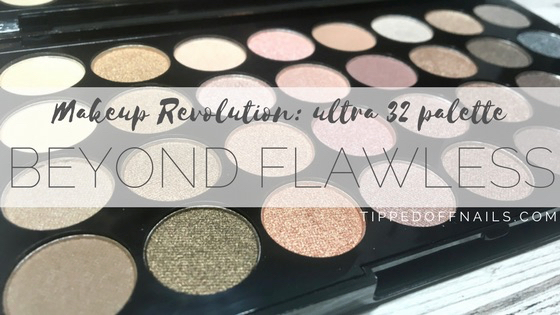 Makeup Revolution Beyond Flawless Swatch