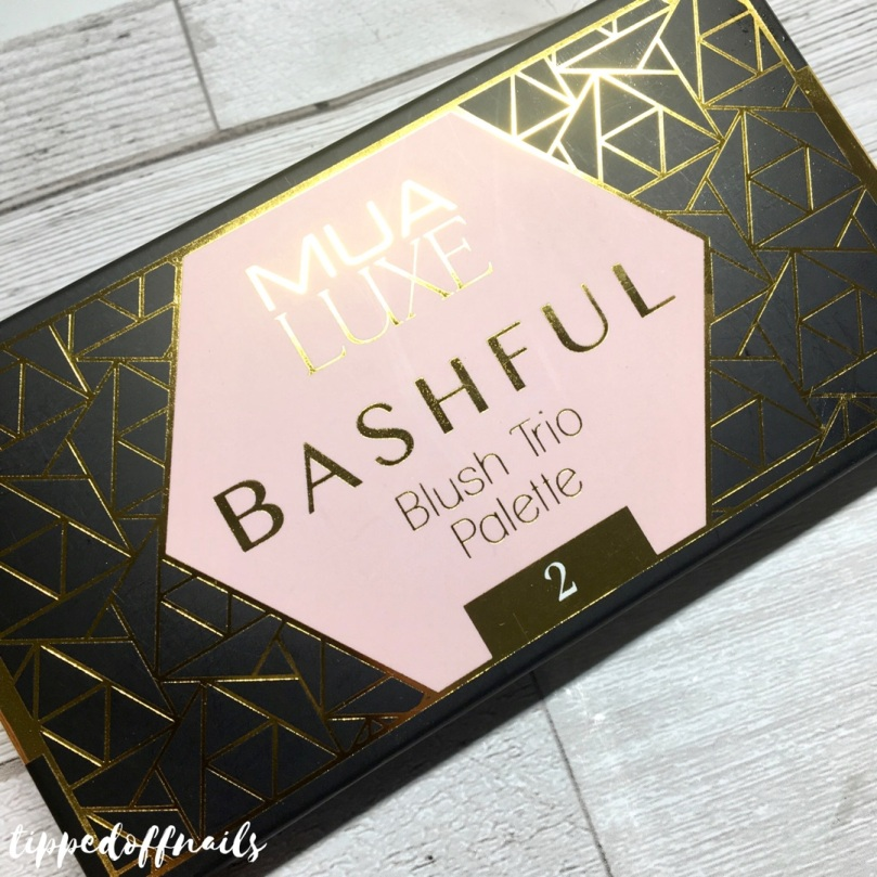 MUA Luxe Bashful Blush Trio - 2
