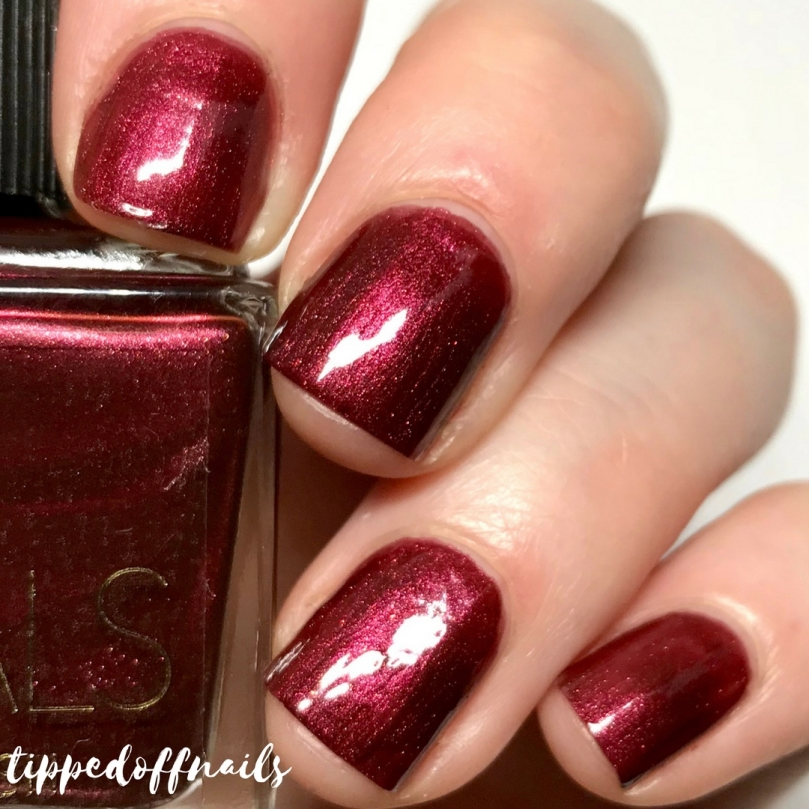 Prmark PS Metals Nail Polish swatches