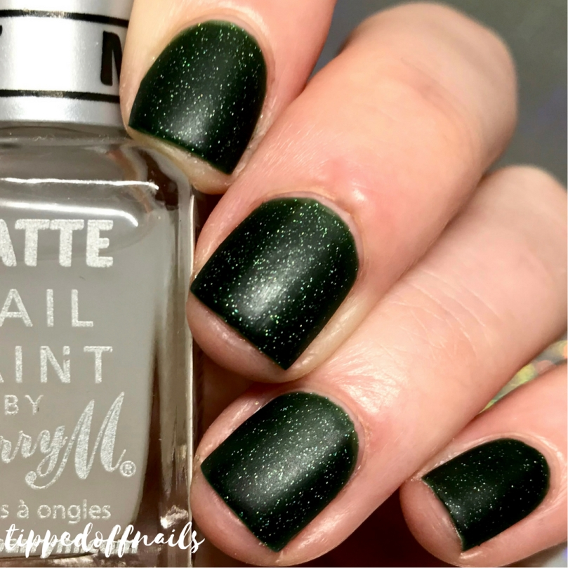 Coze Nail Polish Winter Collection Festive Fir Swatches