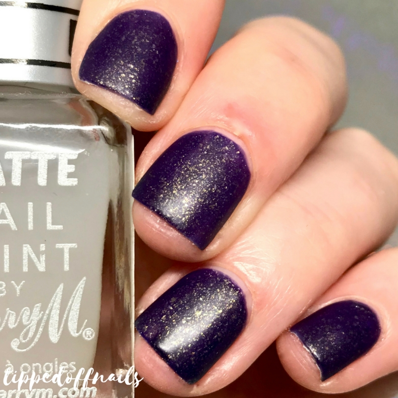 Coze Nail Polish Winter Collection Plum Wine Swatches