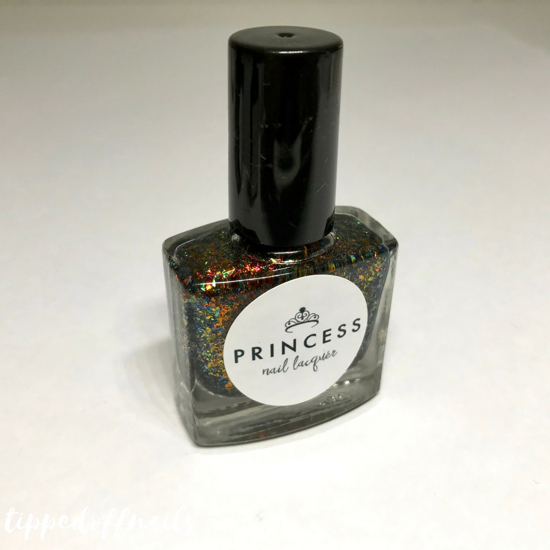 Princess Nail Lacquer Allergic To Flakeness Swatches