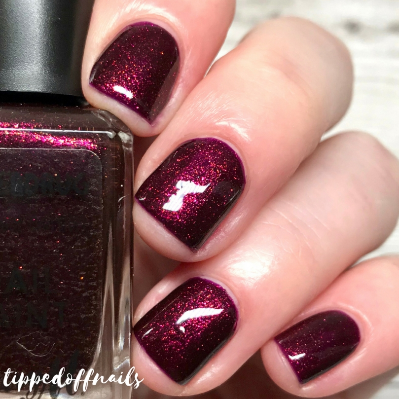 Barry M Matchmaker Lip & Nail Kit review - Extravagant Nail Paint