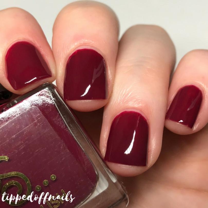 Primark Nail Polish Cherry Swatch